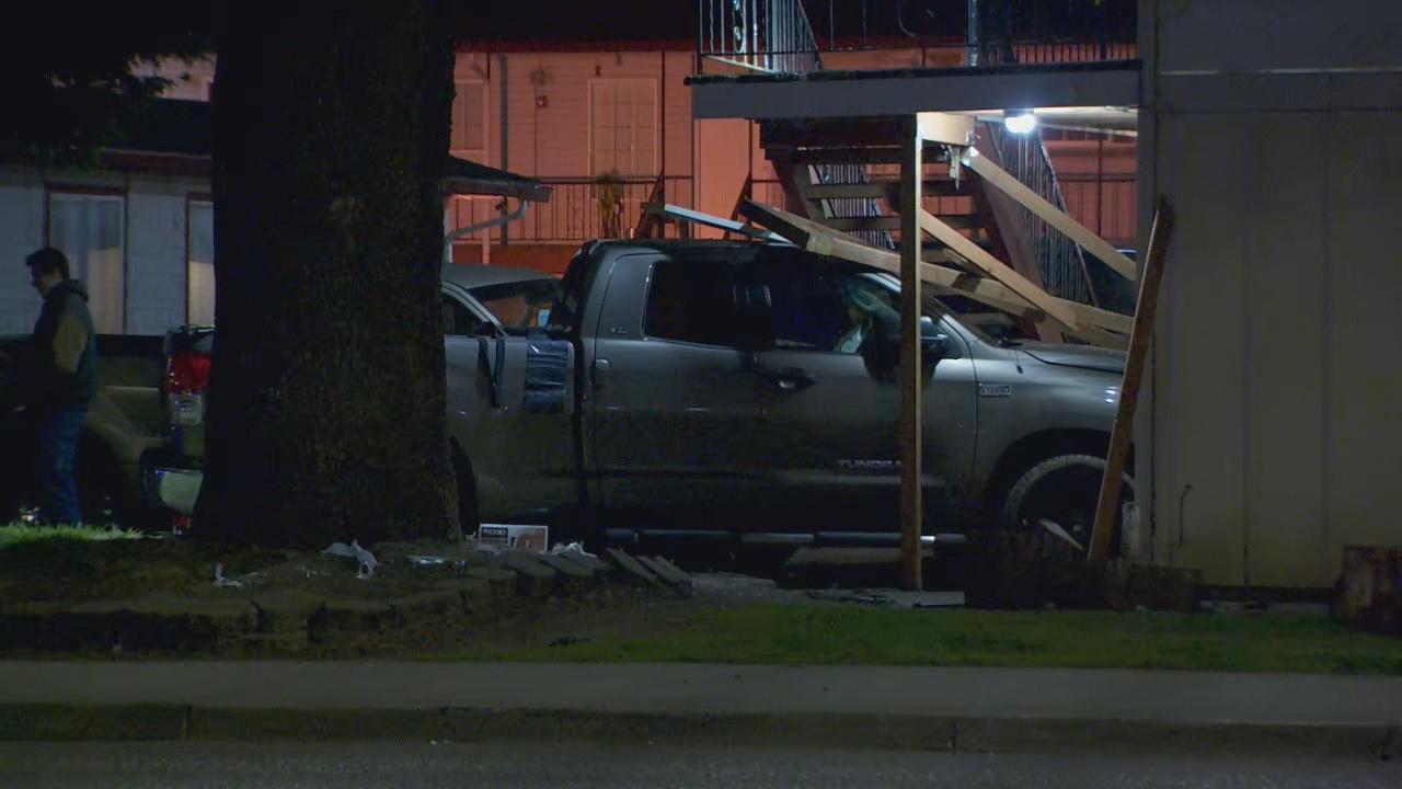 Texas Teen Survives Car Crash