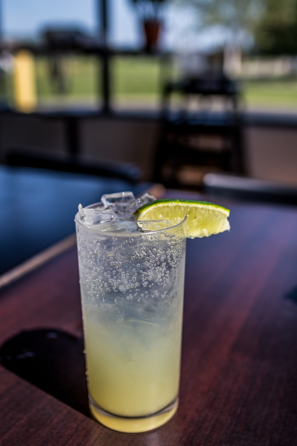 Fresh lime soda / Image: Catherine Viox // Published: 9.28.19