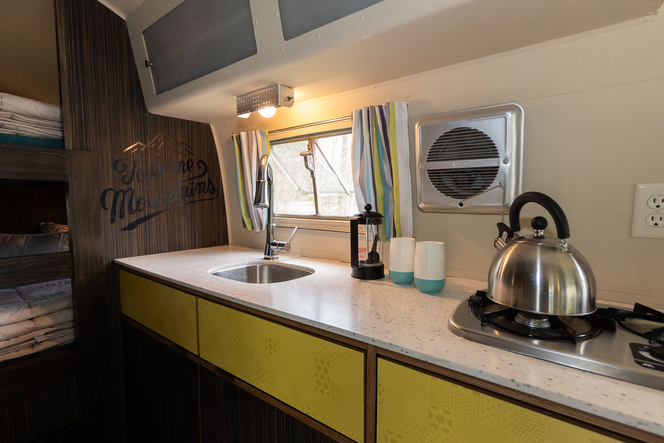 CAMPER: 1958 Airstream Overlander / SLEEPS: Up to 5 / PRICE: $175 per night + $175 cleaning fee / Image: Josh Purnell // Published: 5.12.19