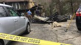 2 people escape house fire in North Asheville