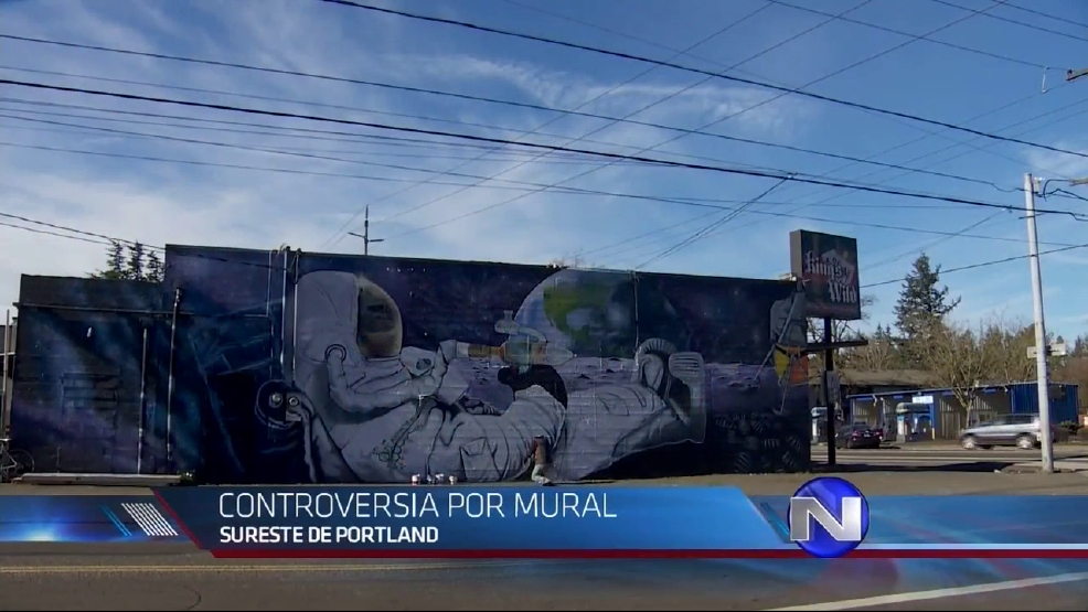 Mural controversial