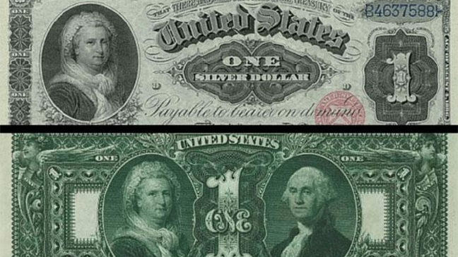 The First and Last Woman on the Dollar Bill