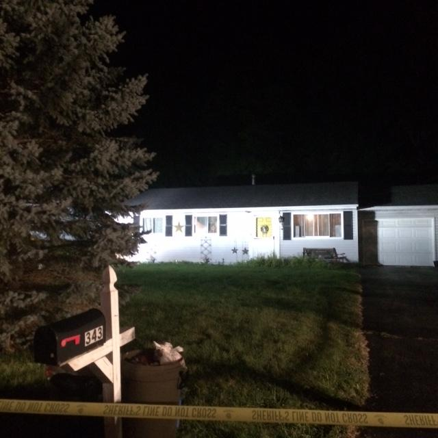 Deputy seriously injured after being exposed to one-pot meth cooker in Chittenango/ Photo courtesy Madison County Sheriff's Office