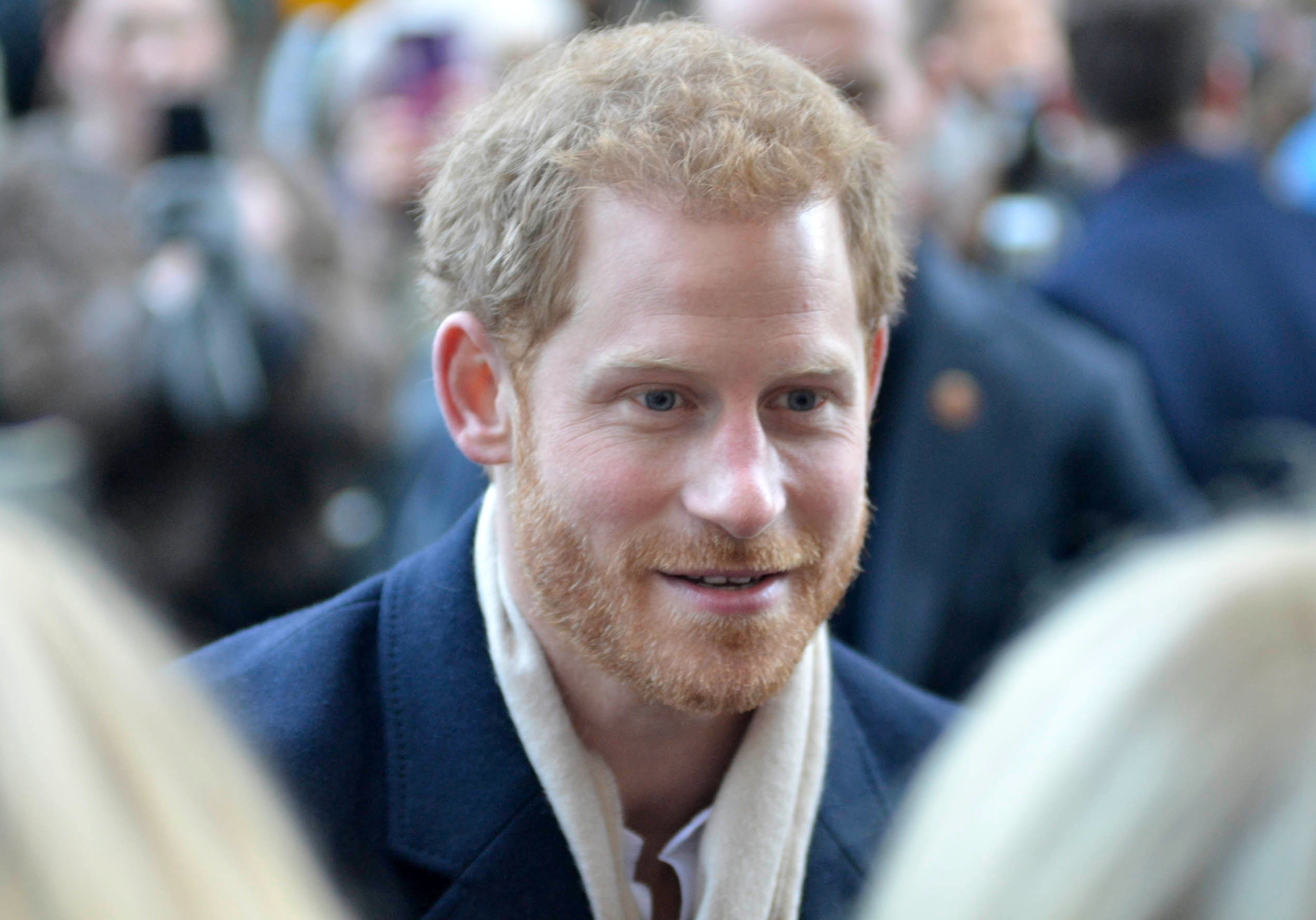 Prince Harry and Meghan Markle attend the Terrence Higgins Trust charity fair at the Nottingham Contemporary Centre                Featuring: Prince Harry        Where: Nottingham, United Kingdom        When: 01 Dec 2017        Credit: WENN.com{&amp;nbsp;}<p></p>