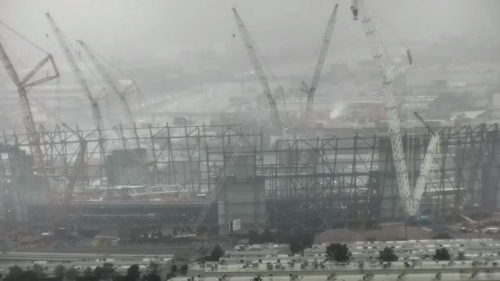 Raiders Stadium coming along just fine despite 'problems with steel' rumor