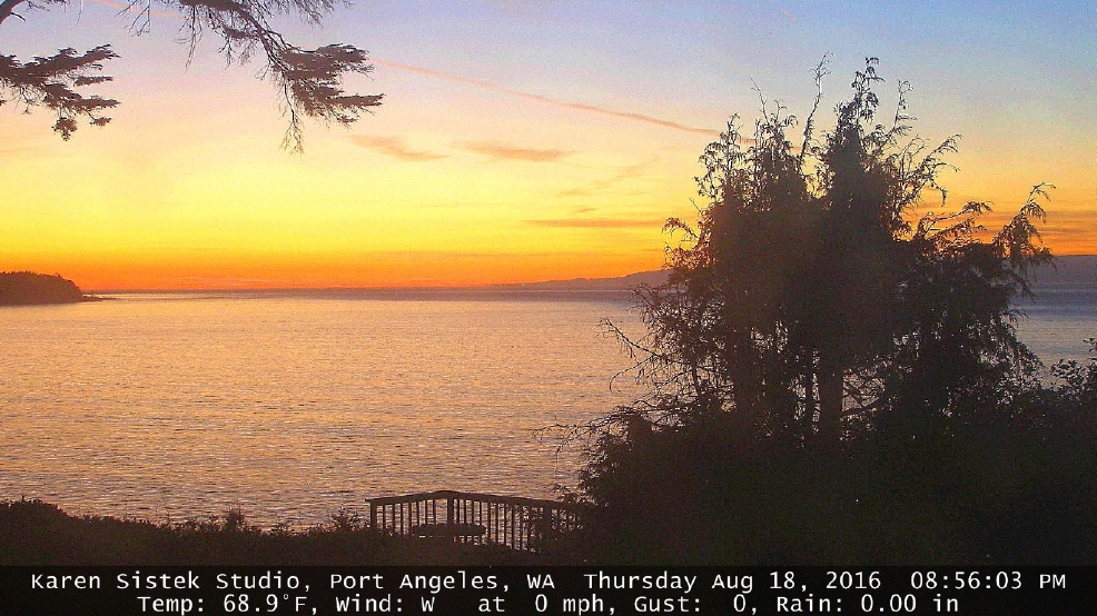 Gentle wind wreaks havoc with Olympic Peninsula temperatures