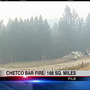 Chetco Bar Fire grows overnight