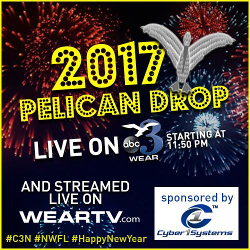 LIVE: Pensacola's 9th annual Pelican Drop