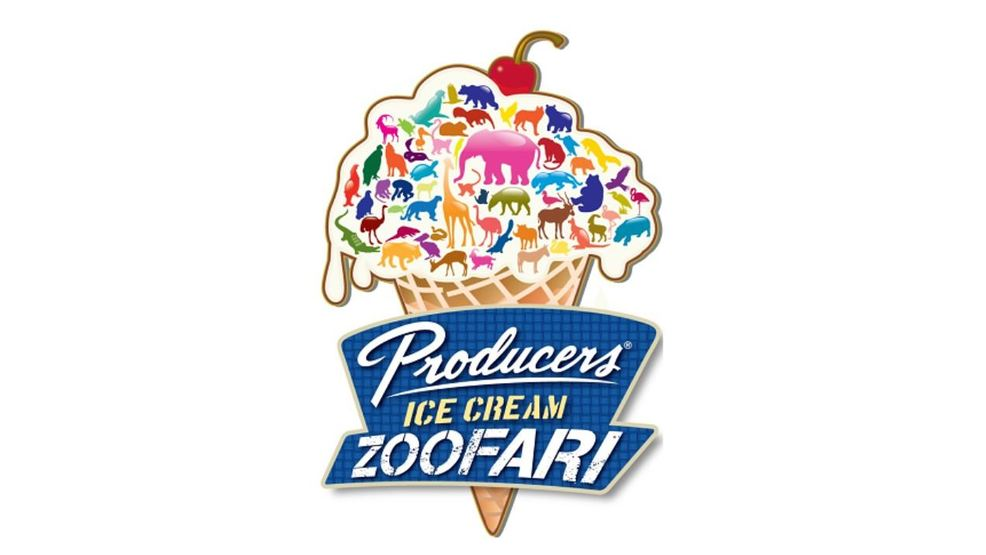 Eat among the animals at Producers Dairy Ice Cream Zoofari at the