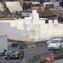 Giant foam blocks used in major construction projects across Puget Sound