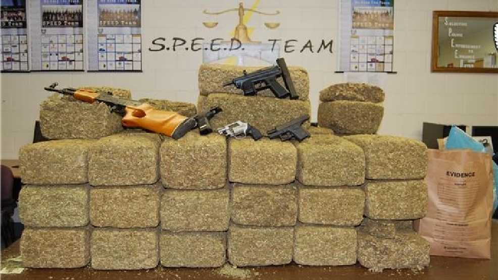 North Charleston Police Seize 500 Pounds Of Weed Wpde