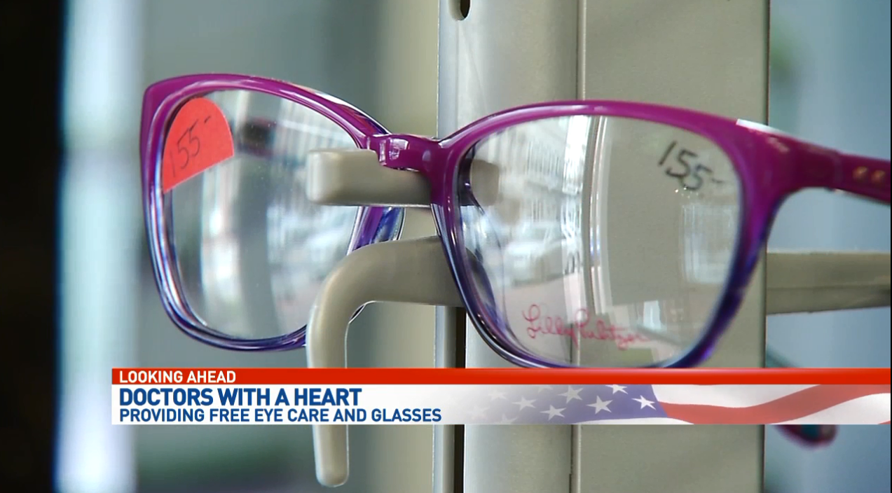 Doctors with a Heart: Providing free eye care and glasses