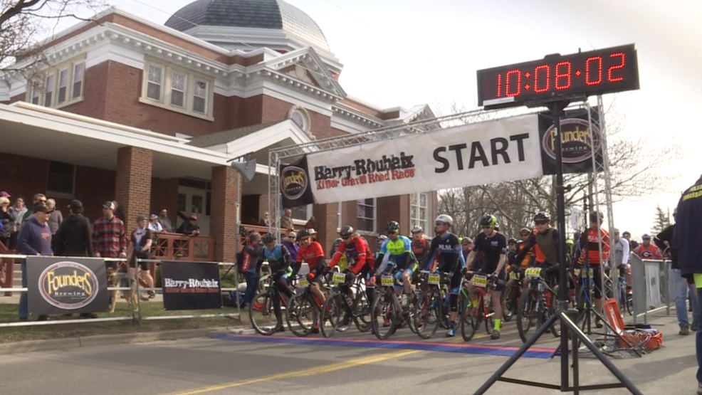 Barry Roubaix terrain bicycle race runs wild in Hastings WWMT