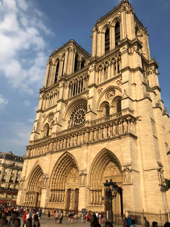 Locals shared their memories and photos of the historic Notre Dame on April 15, 2019 after hearing the gothic Parisian cathedral suffered serious damage after a fire.(Image - Maryjo Beavin Green)
