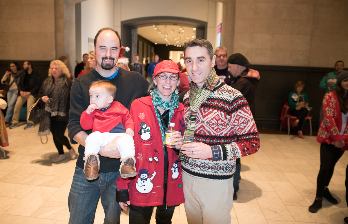 Alan & Ryker Wright with Anne Welling and Charlie Gonzalez / Image: Sherry Lachelle Photography // Published: 12.23.16