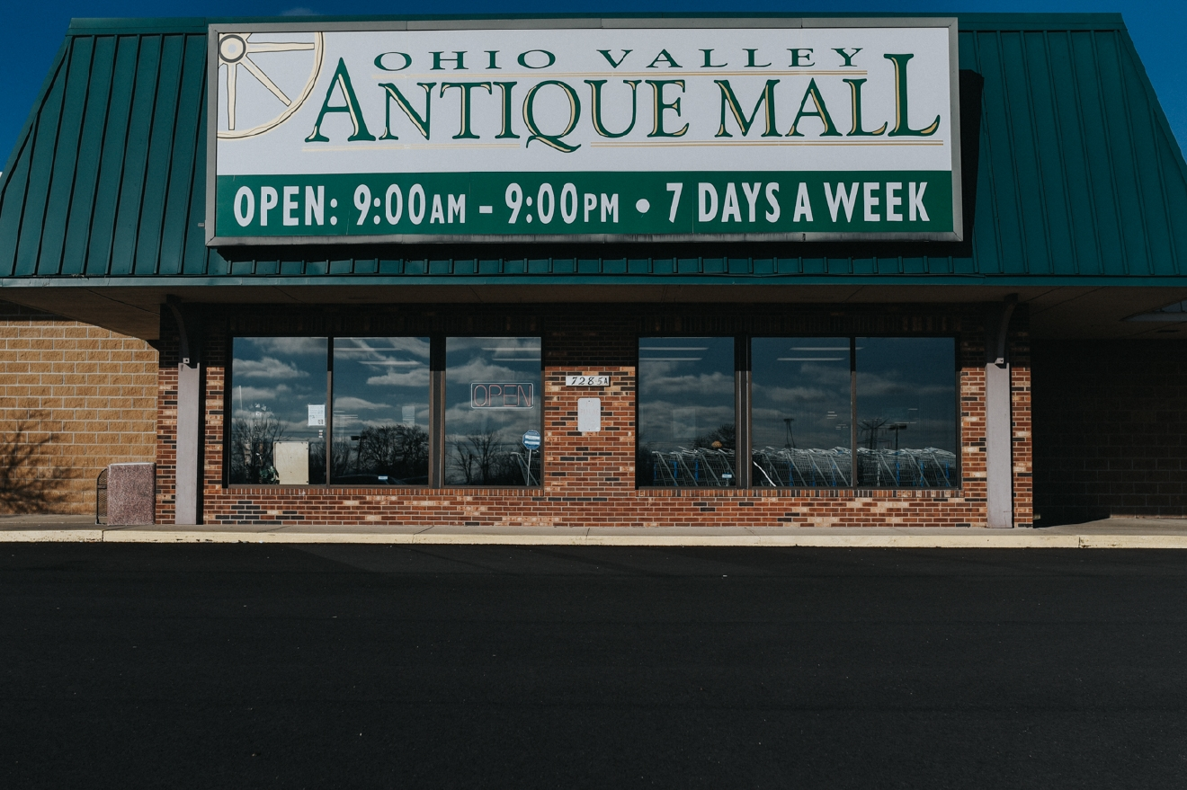 The Ohio Valley Antique Mall (which is located in Fairfield) is 85,000 square feet, with 550 dealers selling a variety of old & unique artifacts. It also has a cafe and a lounge for those who want to pause their shopping excursion for refreshments. ADDRESS: 7285 Dixie Highway (Route 4) Fairfield, OH 45014 / Image: Brianna Long // Published 4.6.17