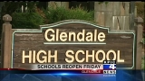 Glendale students back to school Friday following a city water pipe rupture