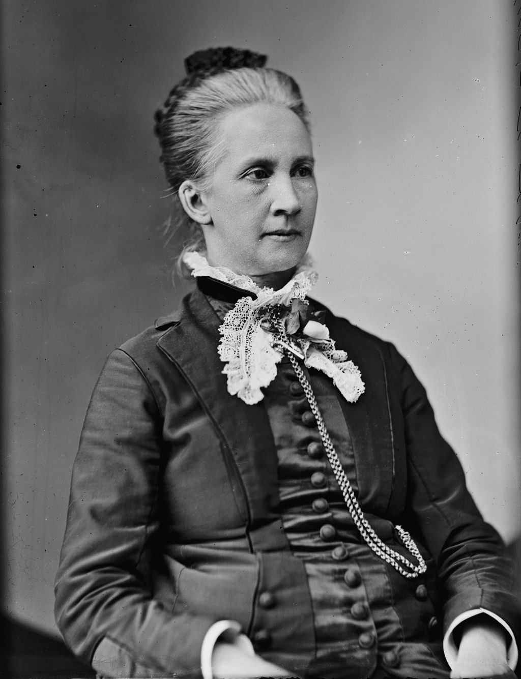 <p>Belva Ann Lockwood was both the first woman to appear on an official presidential ballot and the first female attorney to argue before the Supreme Court. Belva was awarded her law degree from what is now the{&amp;nbsp;}George Washington University Law School and went on to argue two cases before the Supreme Court. Lockwood was a noted suffragette and ran for president on the National Equal Rights Party. (Public domain image via Library of Congress)</p>