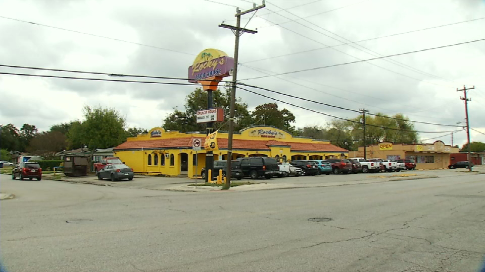 This is the restaurant's outside view (News 4 San Antonio)<p></p>