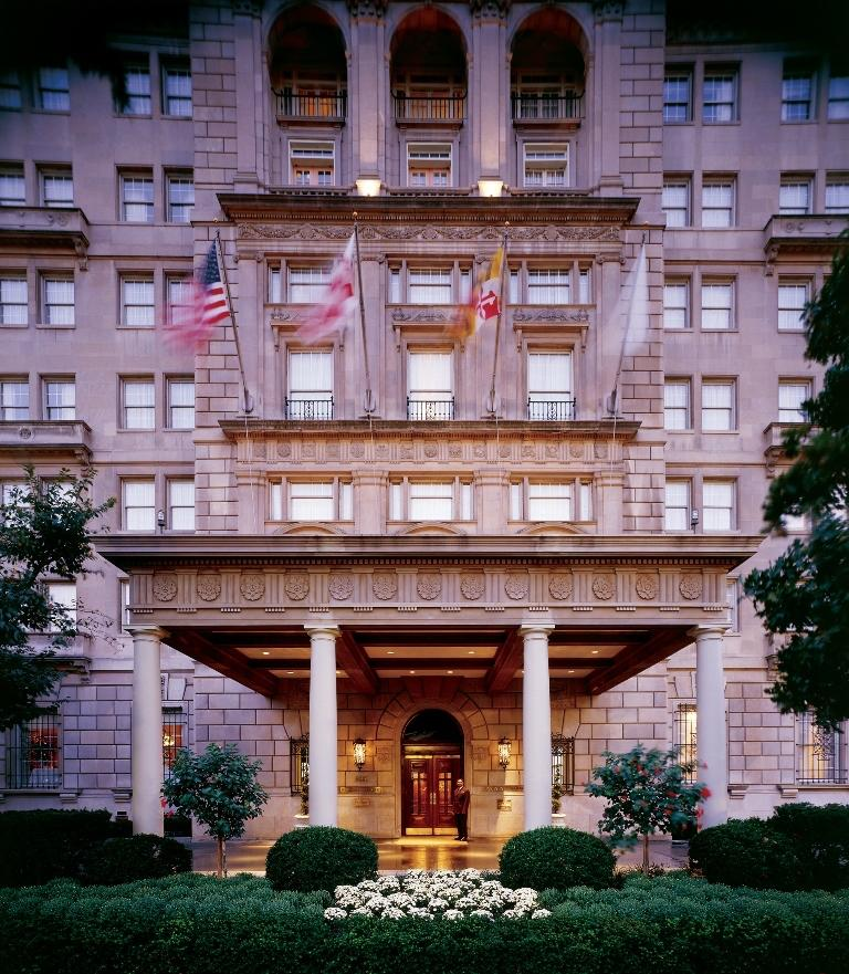 The front entrance of the iconic Hay-Adams hotel. (Image: The Hay-Adams)
