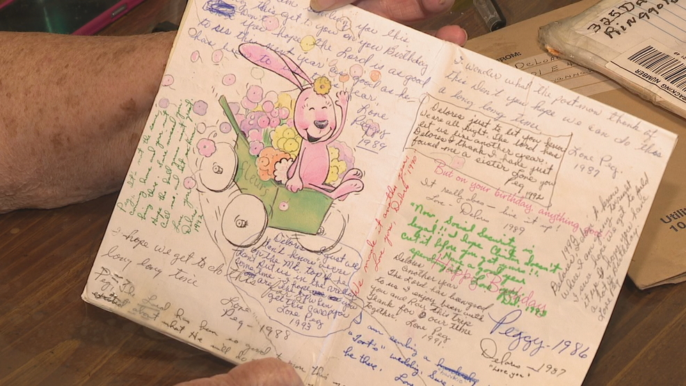 Georgia Sisters Exchange The Same Birthday Card For 32 Years Wtvc
