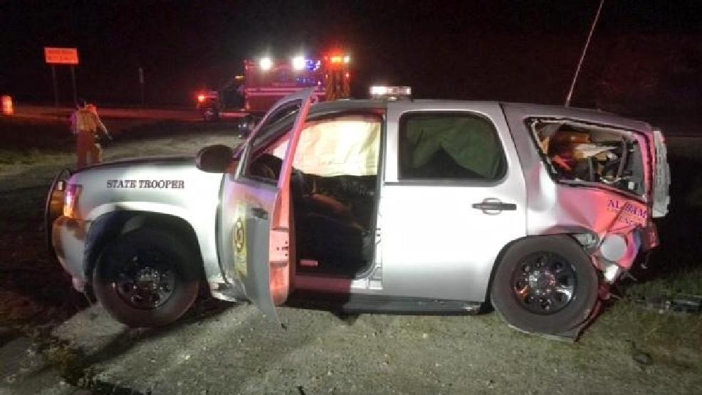 Springville man arrested after crash with Alabama State Trooper  WBMA