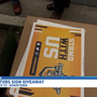Preds Energy team surprising fans with free yard signs