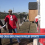 Local Red Cross deploying for relief efforts
