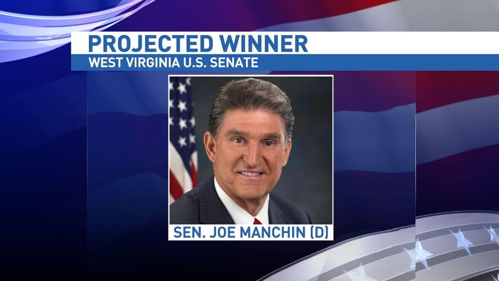 Joe Manchin projected as the winner in U S  Senate race | WCHS
