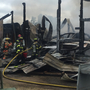 Crews respond to shop on fire in Eagle Creek