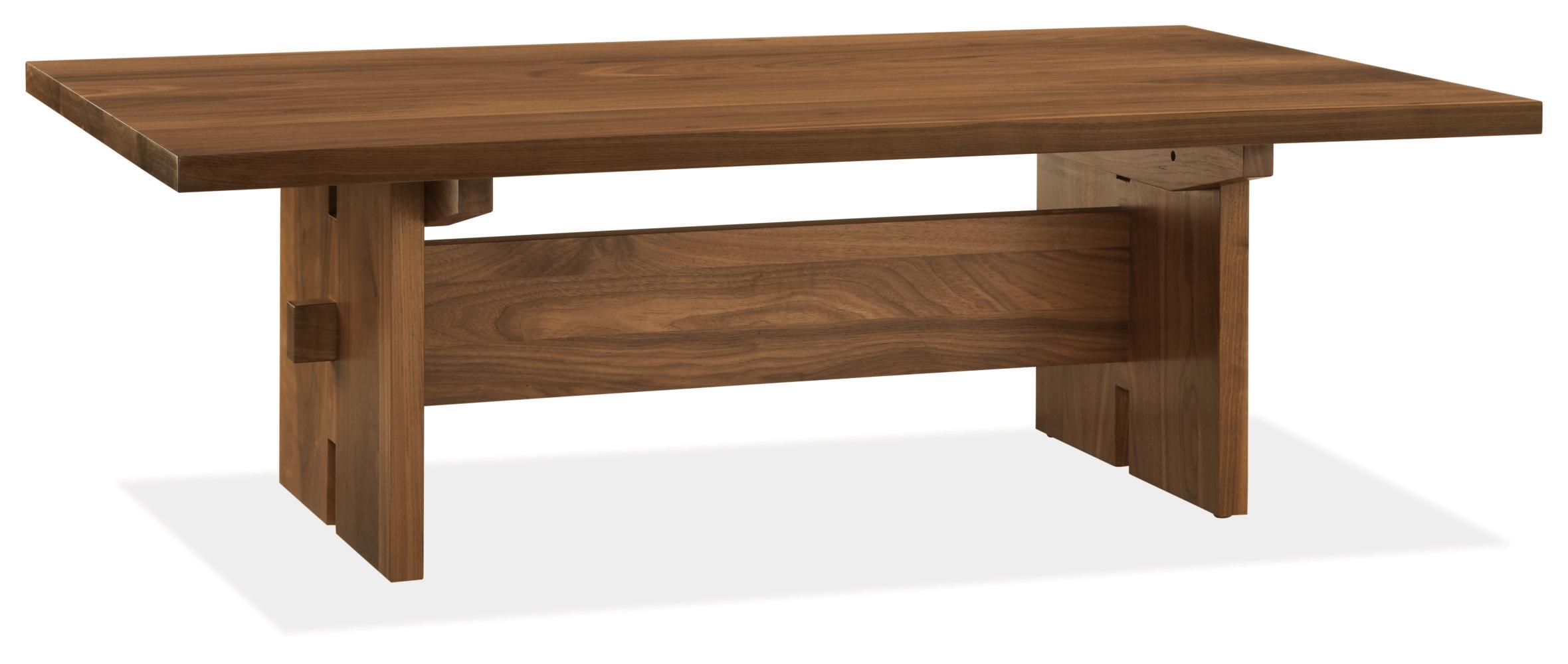 This low-profile walnut table normally goes for{ }$1,299, but it's being discontinued so you can snag it for less this weekend.{ } (Image courtesy of Room & Board)