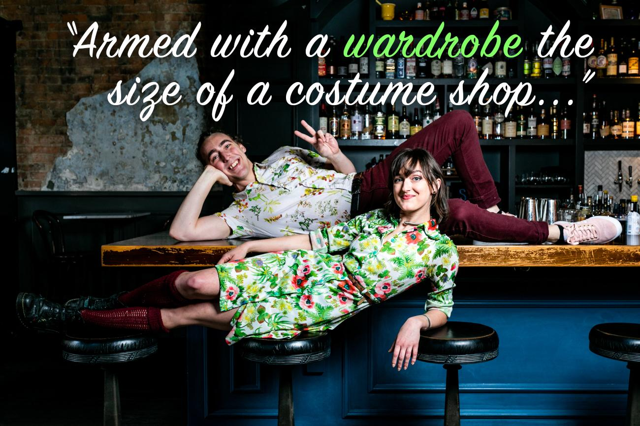"CR: You and Layne love to have fun coordinating outfits. Which one of you has the best fashion ideas / Joe: Layne, without a doubt. She has articles of clothing and accessories I didn't even know were named. Armed with a wardrobe the size of a costume shop, she can rock a dizzying variety of looks."" / Image: Amy Elisabeth Spasoff // Published: 2.26.19"