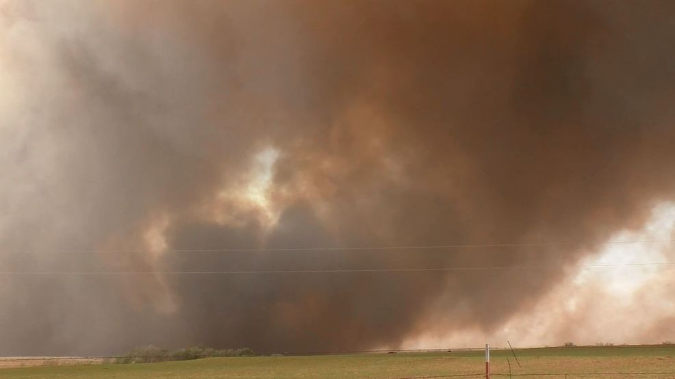 Inside the Storm: Rapidly spreading wildfires in Texas and Oklahoma