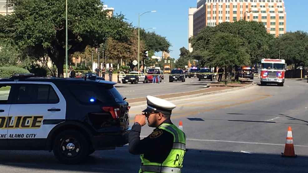 Officer shot and killed outside San Antonio Police Headquarters