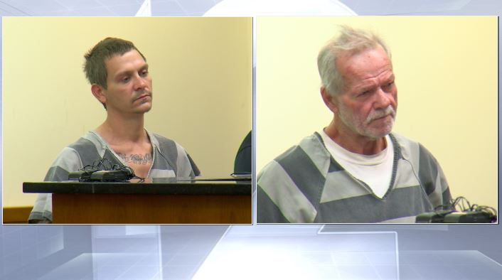 <p>Jim and Keith Boyer pleaded guilty to charges in connection with leaving nine children home alone after their mother overdosed. (WKRC file)</p>