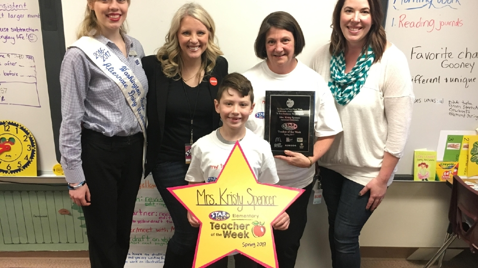 STAR 101.5's Teacher of the Week: Mrs. Kristy Spencer