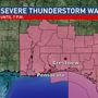 Alert: Severe Thunderstorm Watch for NW FL