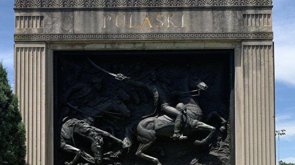 City officials investigating after Patterson Park monument vandalized
