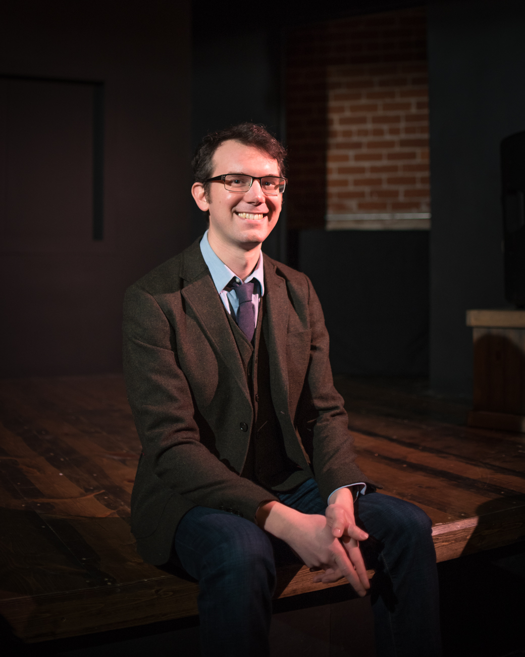 Andrew Hungerford, Artistic Director of the Know Theatre of Cincinnati / Image: Phil Armstrong, Cincinnati Refined // Published: 2.6.17