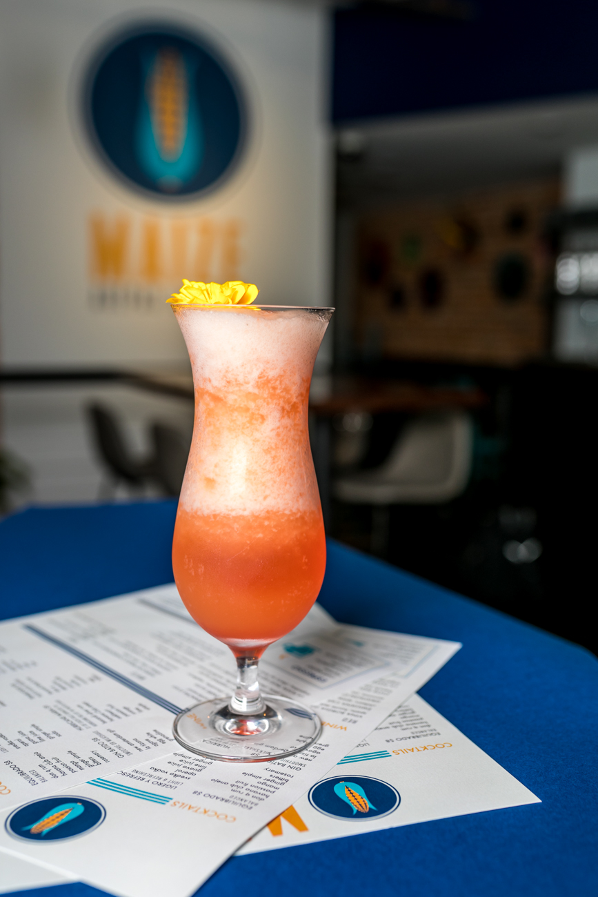 The Hurricane Maria: Barcardi Silver rum, Havana Club anejo, Oakheart rum, passion fruit, orange, lime, and simple syrup / Image: Amy Elisabeth Spasoff // Published: 8.1.18