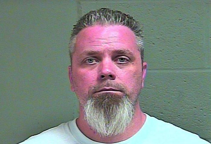 Mark King, 41, was arrested March 26 in Oklahoma City on complaints of offering to engage in an act of prostitution. (Oklahoma County Jail){ }