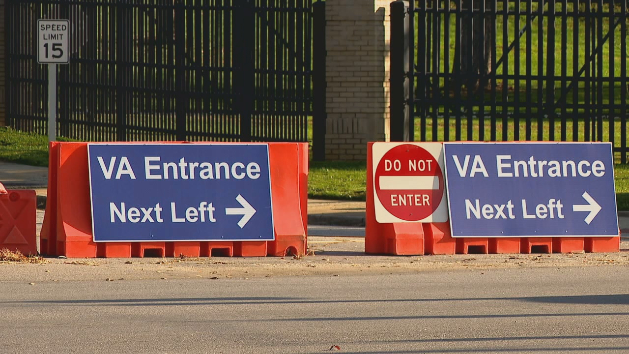 Veterans using the Charles George VA Medical Center now have a new way to check-in. It's called Vet Text. (Photo credit: WLOS staff)