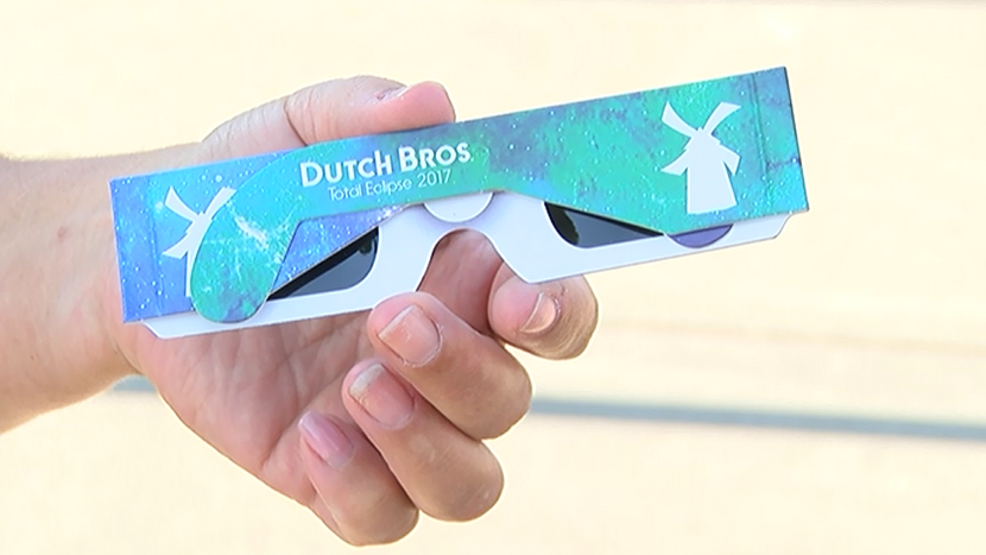 Dutch Bros giving out eclipse glasses this weekend | KTVL