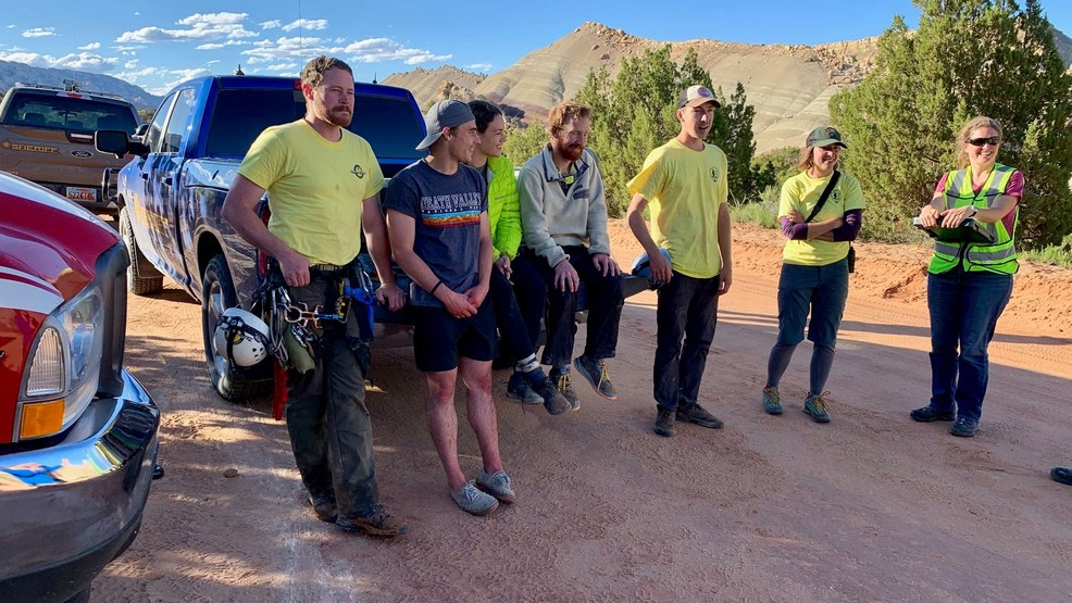 Garfield County officials rescue 3 hikers stranded in Capitol Reef National Park