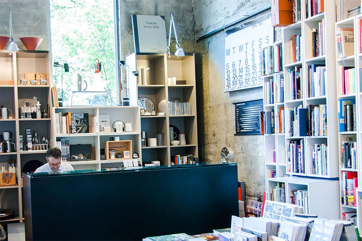 Peter Miller Books has been part of Seattle for more than 25 years. The Second Avenue storefront shares a space with the architectural firm Suyama Peterson Deguchi. (Image: Melanie Biehle/Seattle Refined)