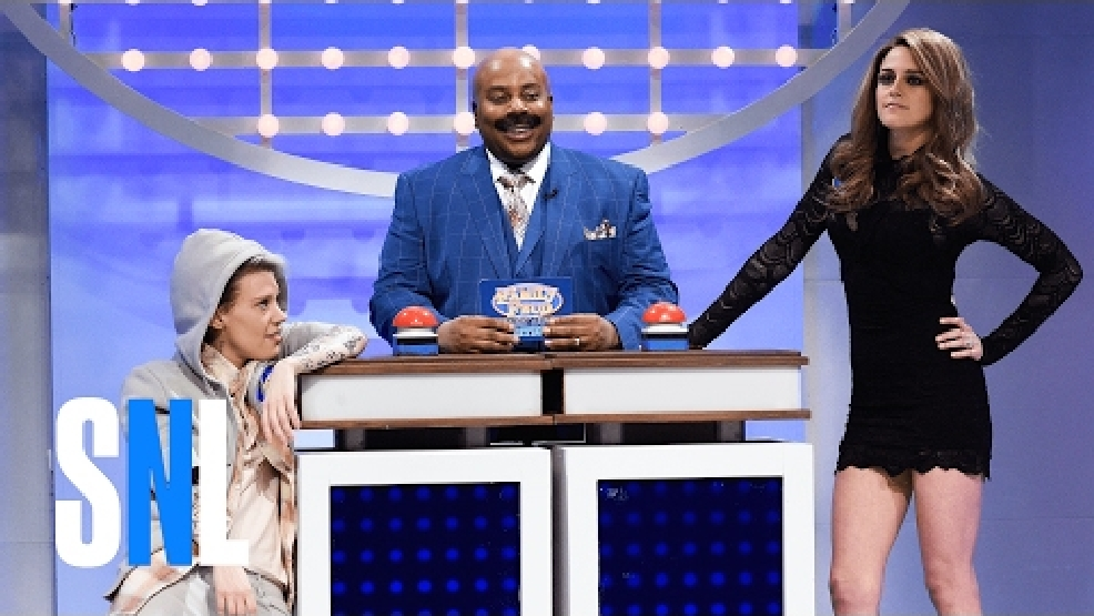 'SNL' 'Family Feud': Bill Belichick and Lady Gaga vs. Justin Bieber and Roger Goodell