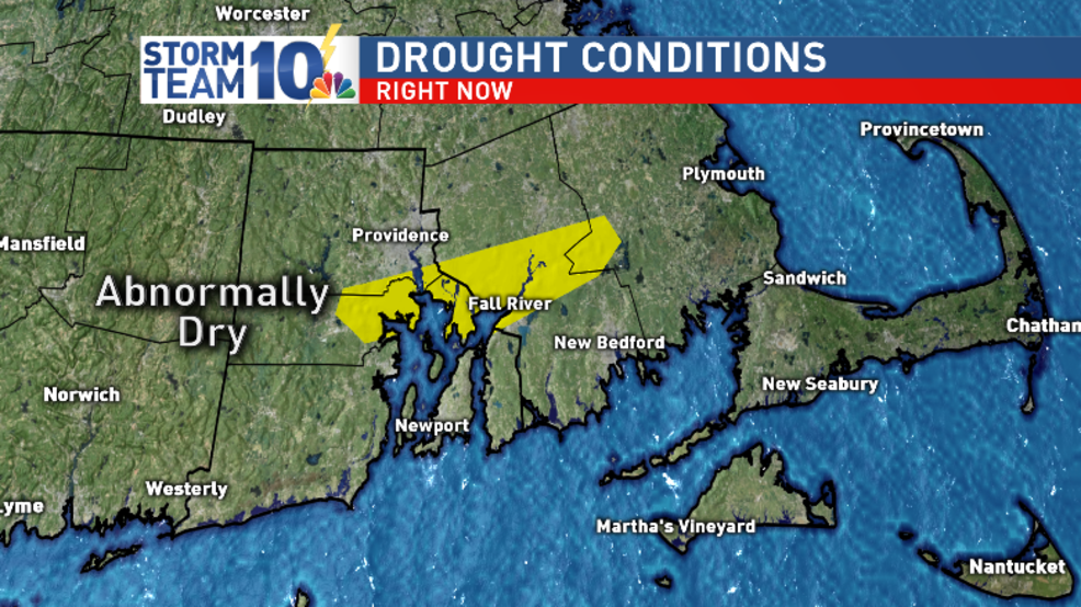 Abnormally dry conditions develop in parts of Southern New England