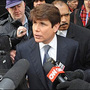 Blagojevich maintains innocence, mopping floors in prison