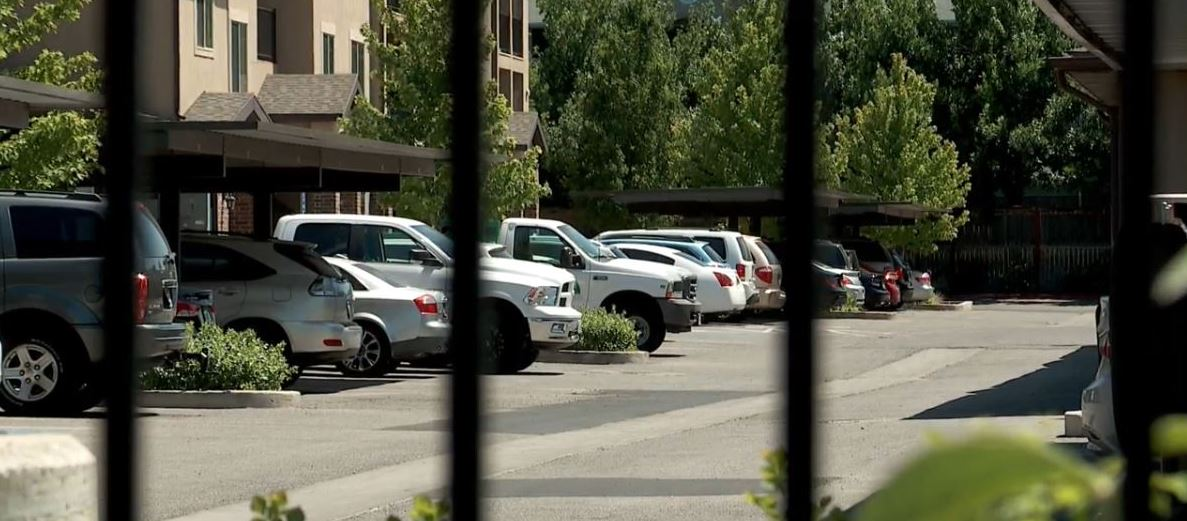 Man shot while trying to break into apartment, police say. (Photo: KUTV)