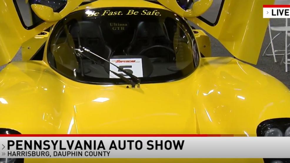 Joel D. Smith takes the Pennsylvania Auto Show